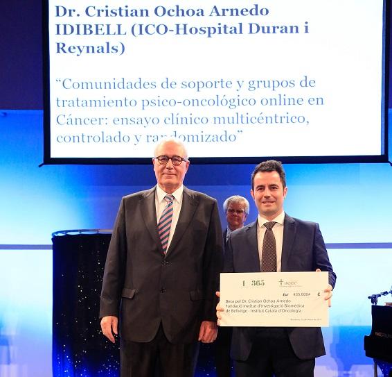 BECA DE LA AECC PARA EL Dr. OCHOA Y LA PSICOONCOLOGÍA ONLINE