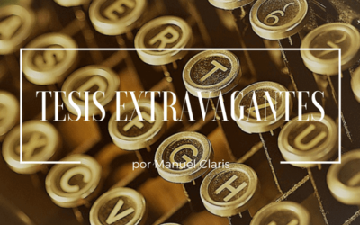 Serie Tesis Extravagantes