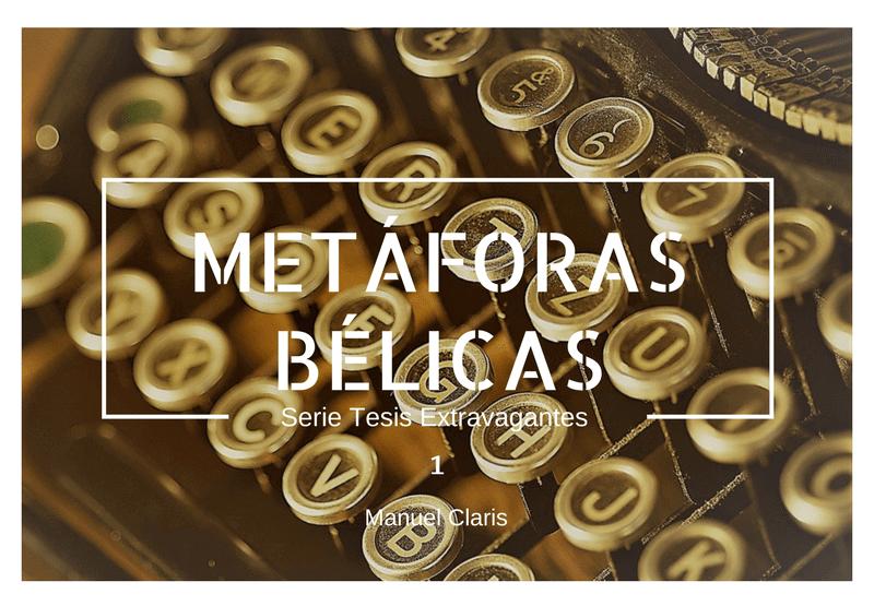 Metaforas Belicas