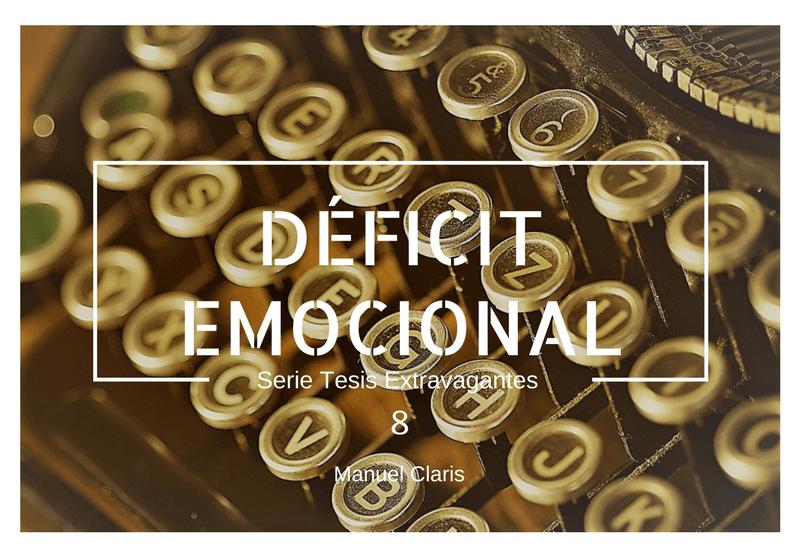 ¿El Déficit Emocional provoca Cáncer?
